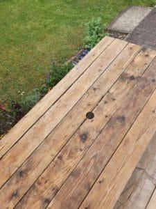 Rustic Wooden Garden Table