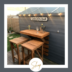 Wall Mounted Garden Bar
